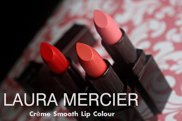 Laura Mercier Creme Smooth Lip Colors new for Spring 2013 - Review, Photos & Swatches