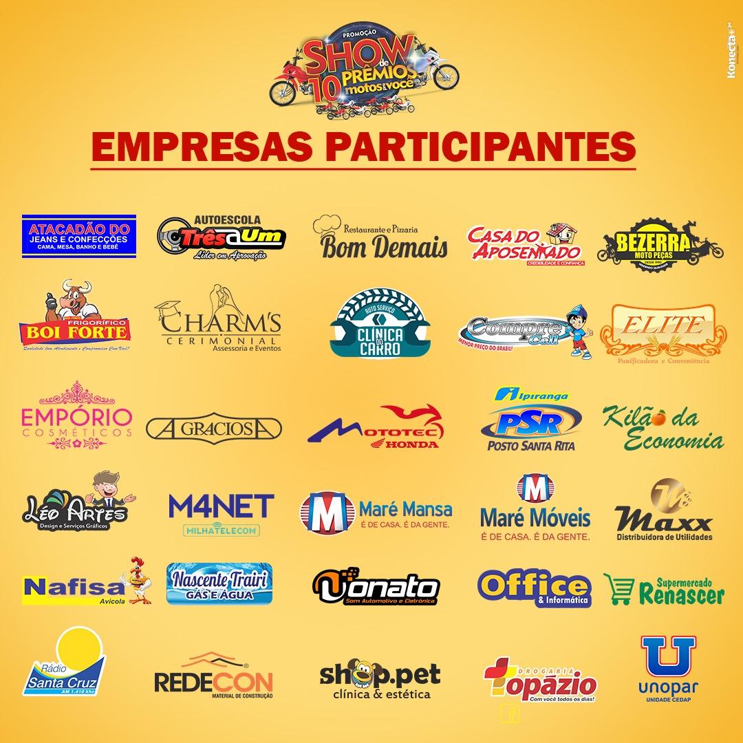 Lojas Participantes da Promoção