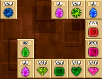 chơi game Cuộc chiến giành kim cương