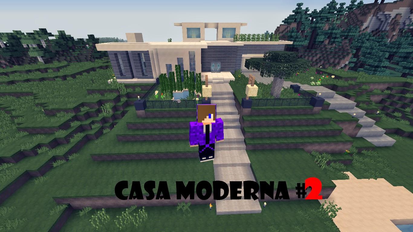 Casa moderna 2 mods para minecraft galaxycreative for Casa moderna udine 2014