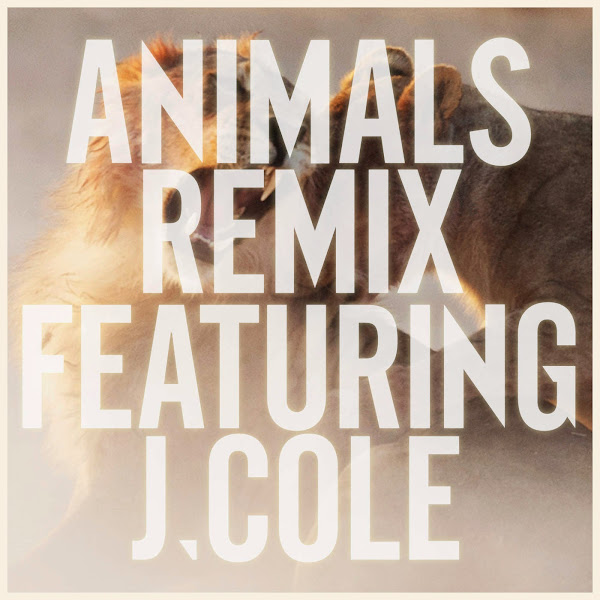 Maroon 5 - Animals (Remix) [feat. J Cole] - Single Cover