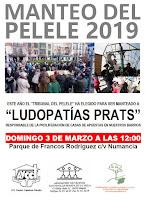 Carnavales 2019 en Tetuán-Dehesa de la Villa: Manteo del pelele
