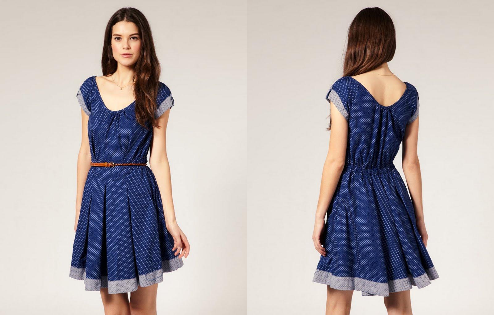 To Guardando o Modelo >> Modelos de Vestido