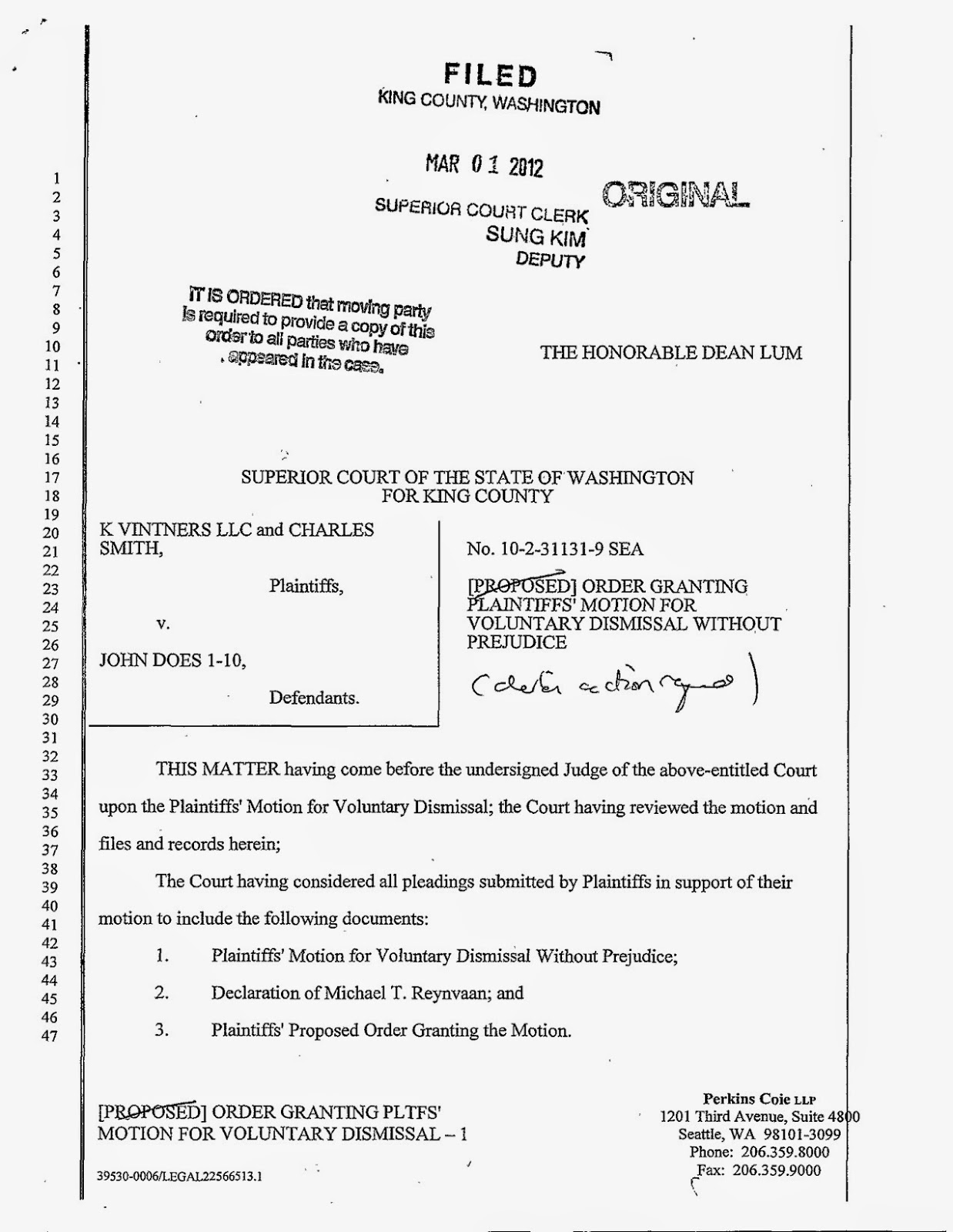 the gray report update charles smith dropped his lawsuit against