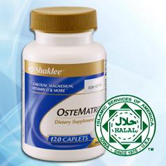Khasiat ostematrix, kalsium, kuatkan tulang dan gigi, pengecutan otot, pelancaran saraf