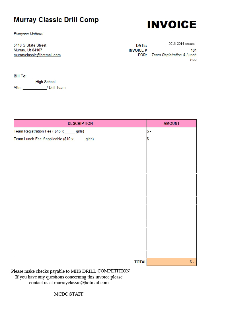graphic design invoice template indesign interior