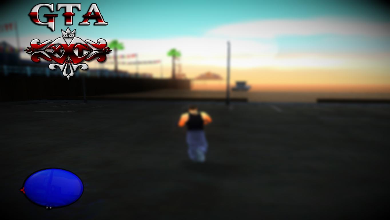 GTA SA - Polícia no Radar Cleo Mod