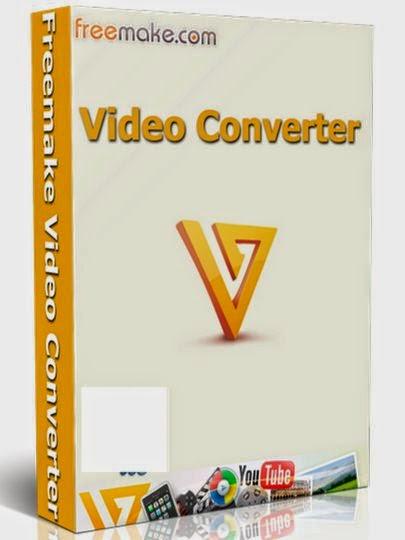 برنامج تحويل الفيديو الصوت Freemake