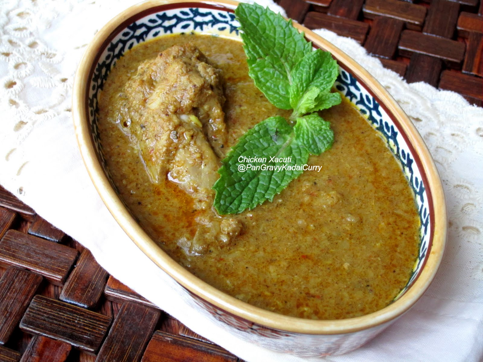 Pan gravy kadai curry goan chicken xacuti goan chicken xacuti forumfinder Images