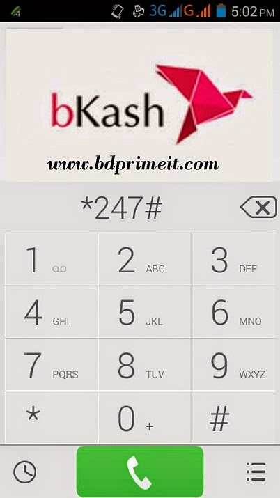 Recharge your mobile by bKash account