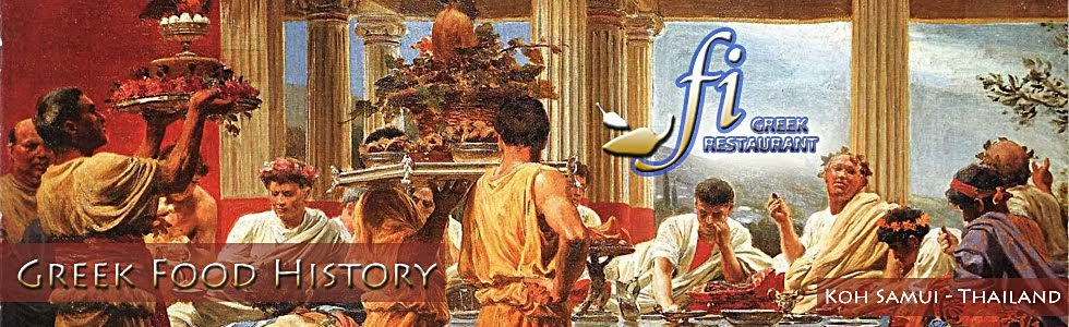 Greek food history ancient greek colonies for Ancient greek cuisine history