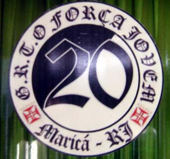 5aa7c31a1a Torcidas do Vasco  FORÇA JOVEM 2011  ADESIVO