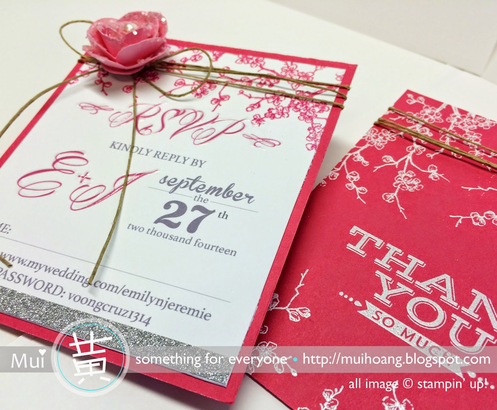 Something for Everyone!: Wedding Invitation: Emily & Jeremie\'s Box ...