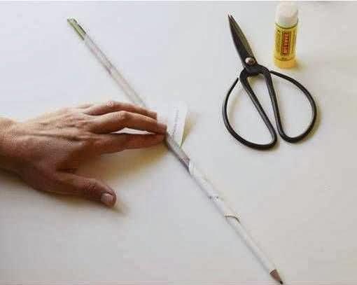 Cara membuat kerajinan tangan dari kertas , pot bunga dari kertas