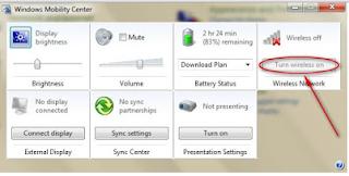 Inilah Cara Mudah Mengaktifkan WIFI di laptop