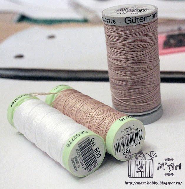 нитки для сшивания кожи и отделочных строчек, особо прочные