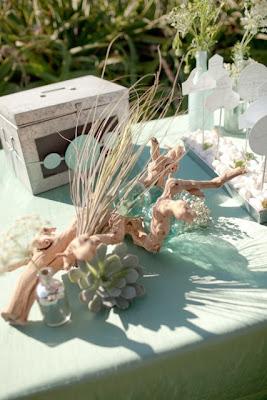 ramas como decoracion floral boda