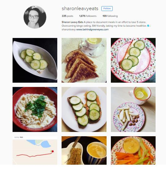 Healthy Eating Instagram