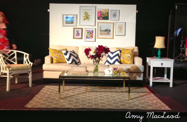 """how to zhush a room in 15 minutes' interior design talk by Amy MacLeod"
