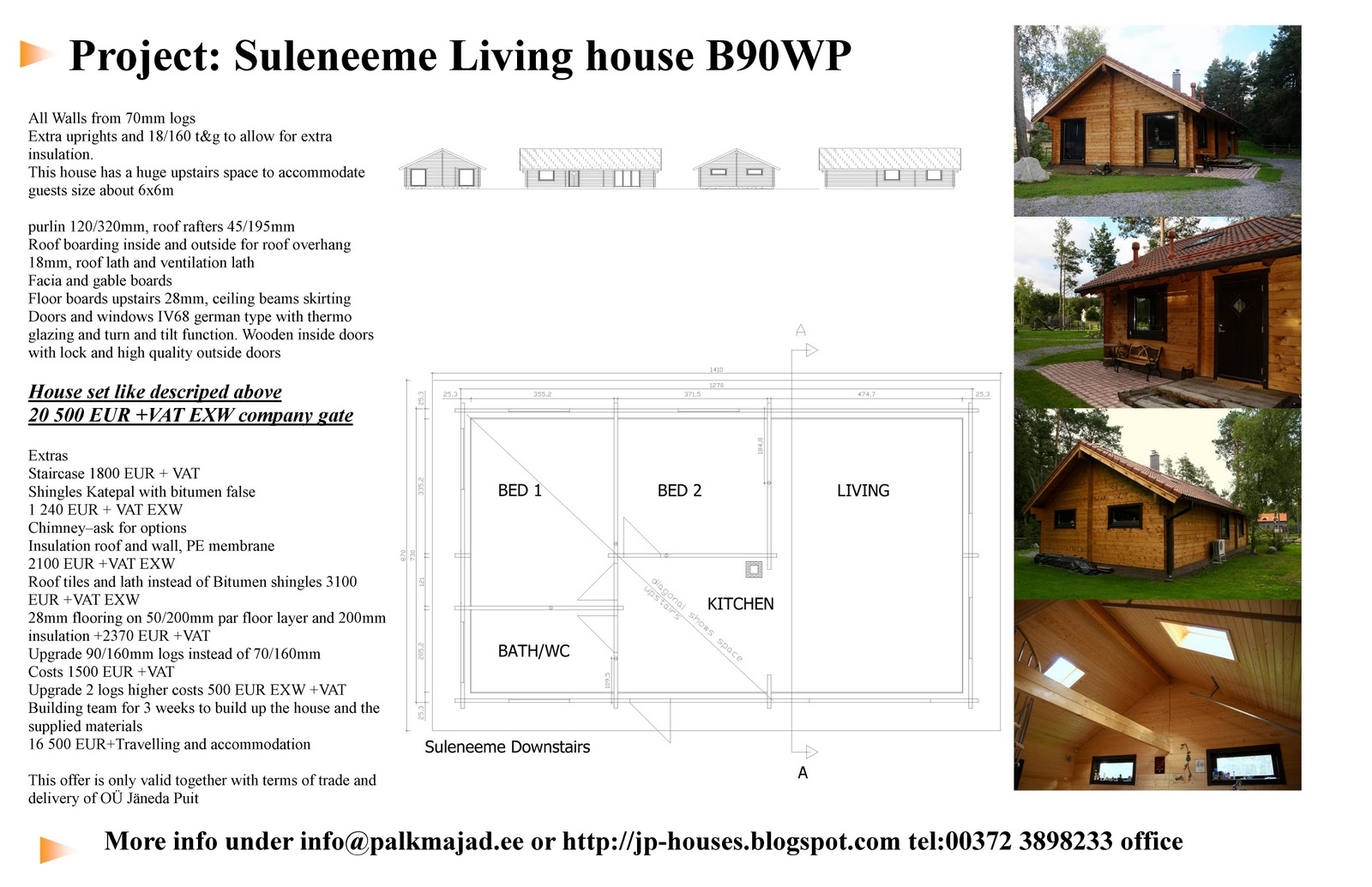 Marvelous photograph of Loghomes: Suleneeme log home energy efficient price offer with #6F4119 color and 1600x1035 pixels