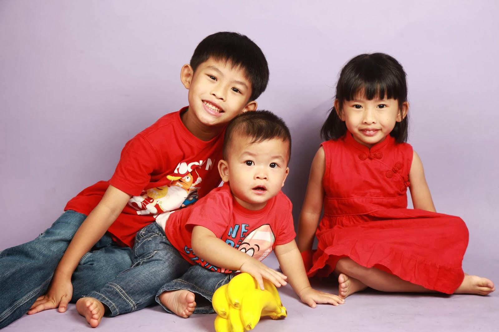 Precious Lil' Ones - Kayden, Kayla & Kayvan