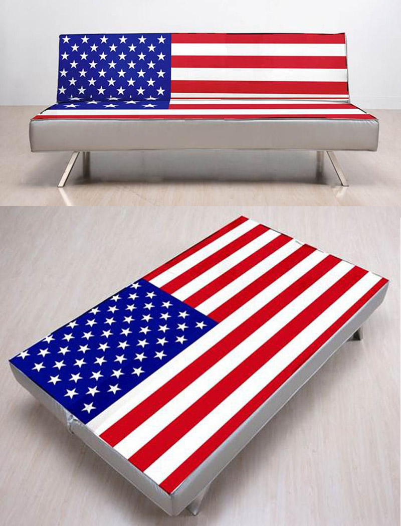 American Flag Futon Sofabed By Gold Sparrow: Great Pictures