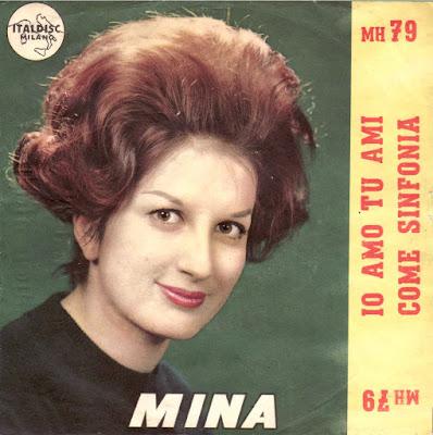 Sanremo 1961 - Mina - Io amo tu ami