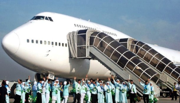 Penerbangan Jemaah Haji Indonesia