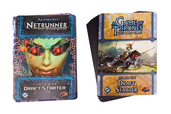 Card Game news LCG Draft Packs for Netrunner and A Game of Thrones
