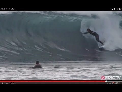 Discovering a Surfing Paradise in the Middle of the Atlantic Atlantic Diversions Ep 1