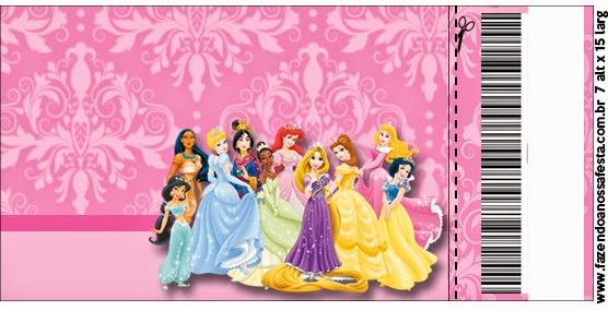 disney princess party: free printable party invitations. | is it, Birthday invitations