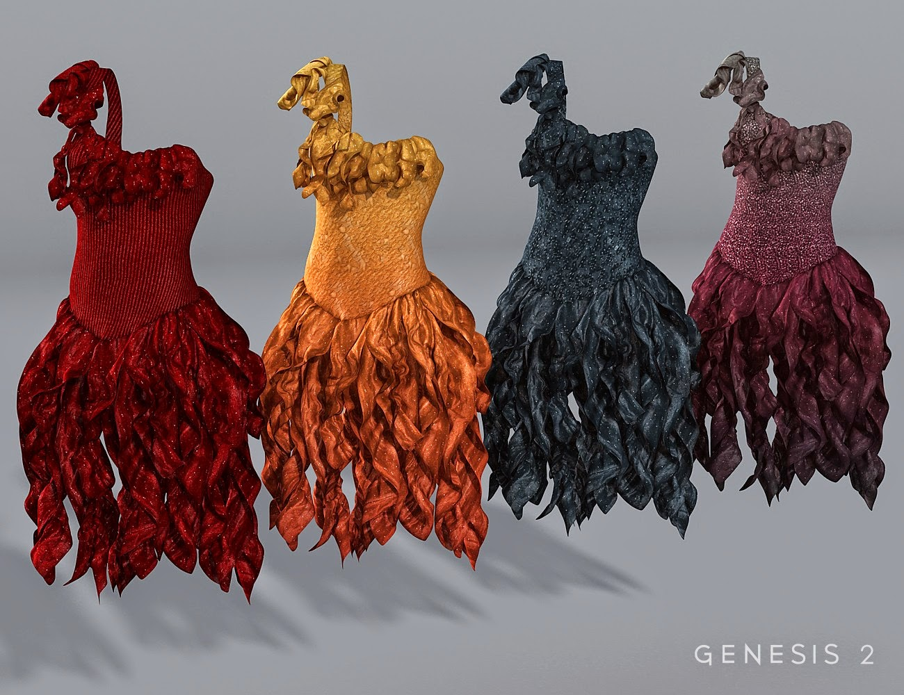 Canaries Robe Textures
