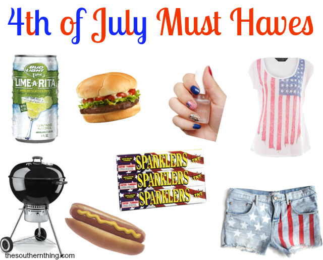 4th of july must haves