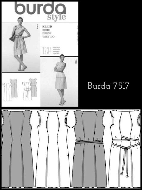 Burda Schnittmuster 7517