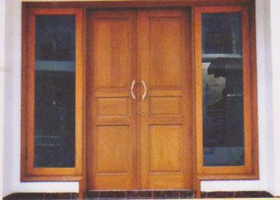 Desain Kusen Pintu Minimalis