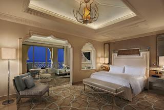 Junior Suite at Waldorf Astoria RAK (Image supplied)