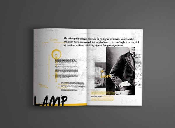 Creative Book Design : Creative book layout design inspiration agus mulyadi
