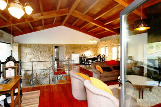 Interior vivienda unifamiliar en Arbo - Casa Chandaspuga