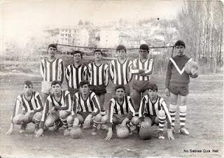 Equipo deFutbol de Candelario Salamanca años 60