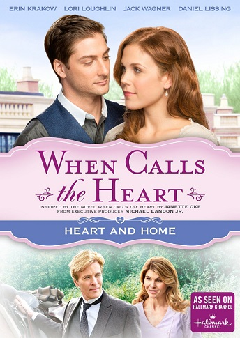 When Calls The Heart-Heart and Home DVD cover