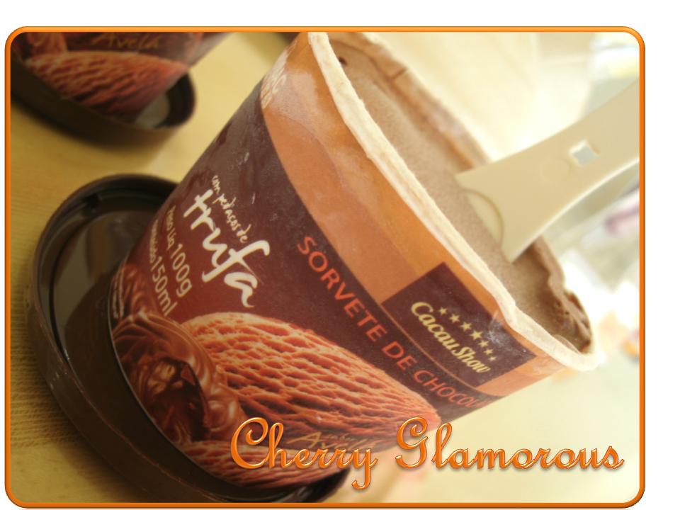 sweet home sorvete trufado da cacau show