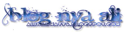 Blog nya ALI