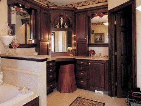 Muebles de ba o cl sicos o tradicionales ba os y muebles - Banos clasicos ...