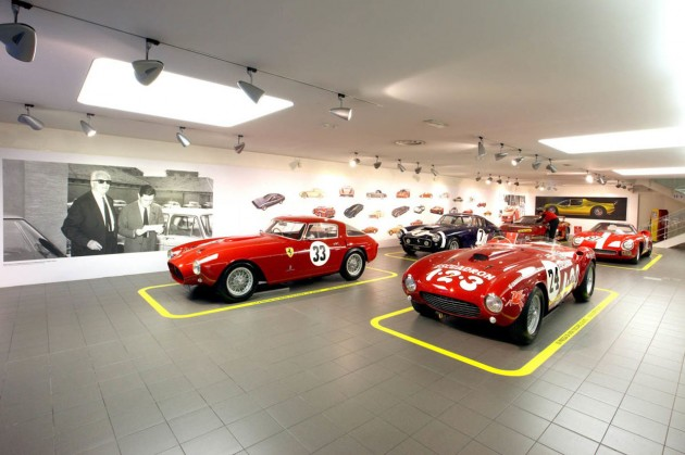 Ferrari Museum Opens Exhibit Celebrating Works of Sergio Pininfarina
