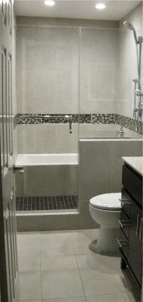 Scrap ali ever after bath tub in shower wet room for Wet area bathroom ideas