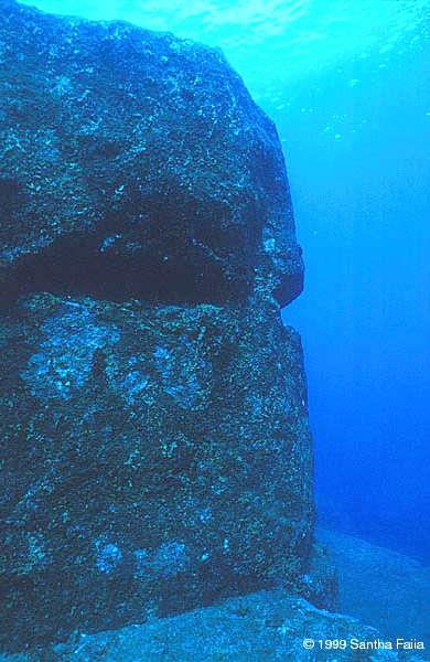 Yonaguni monument face