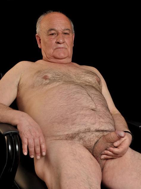 sexy naked grandpa photo