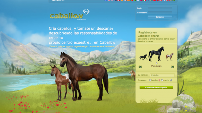 Galopejunior Caballow el mejor juego de caballos