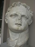 Emperor Domitian, Caesar, statue, bust