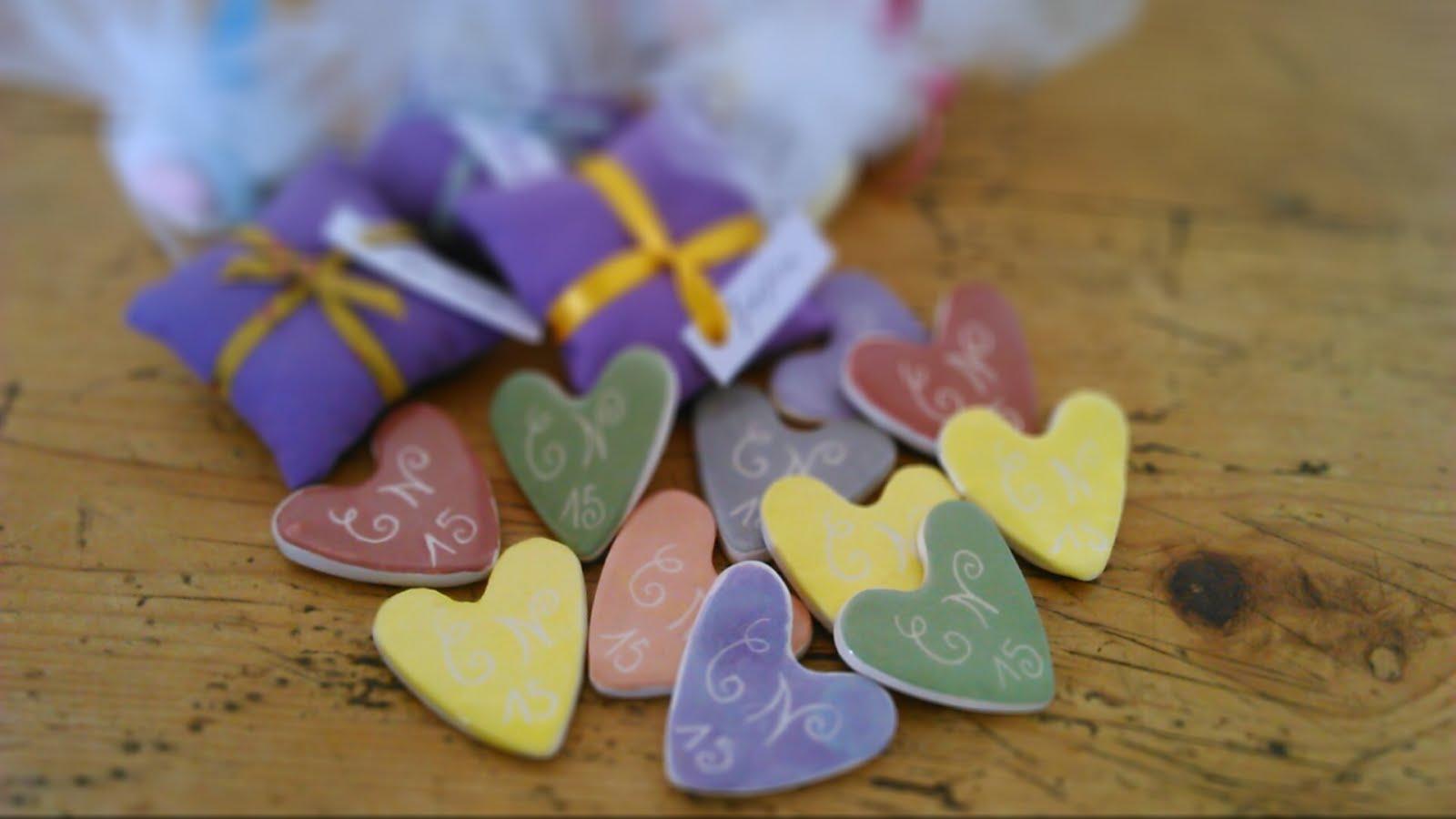 Cœurs de céramique!